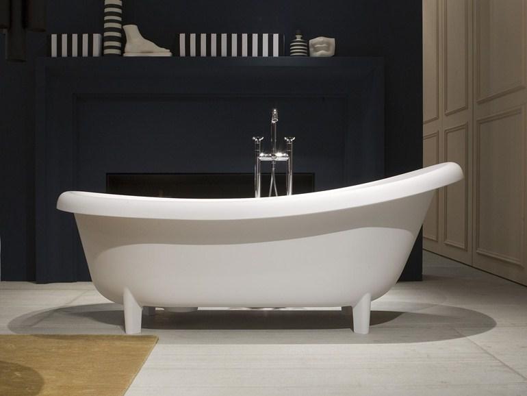 Il bagno come stile di vita for Vasca centro stanza