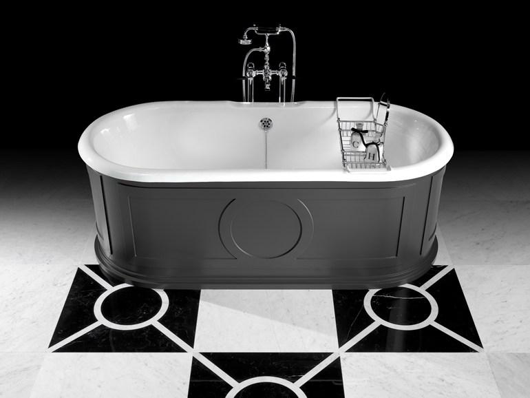 Devon devon vasca da bagno in alluminio in stile classico