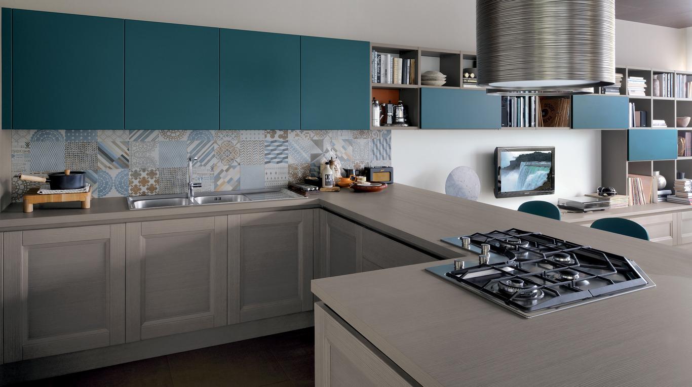 La cucina il cuore della casa - Cucina piano cottura angolare ...