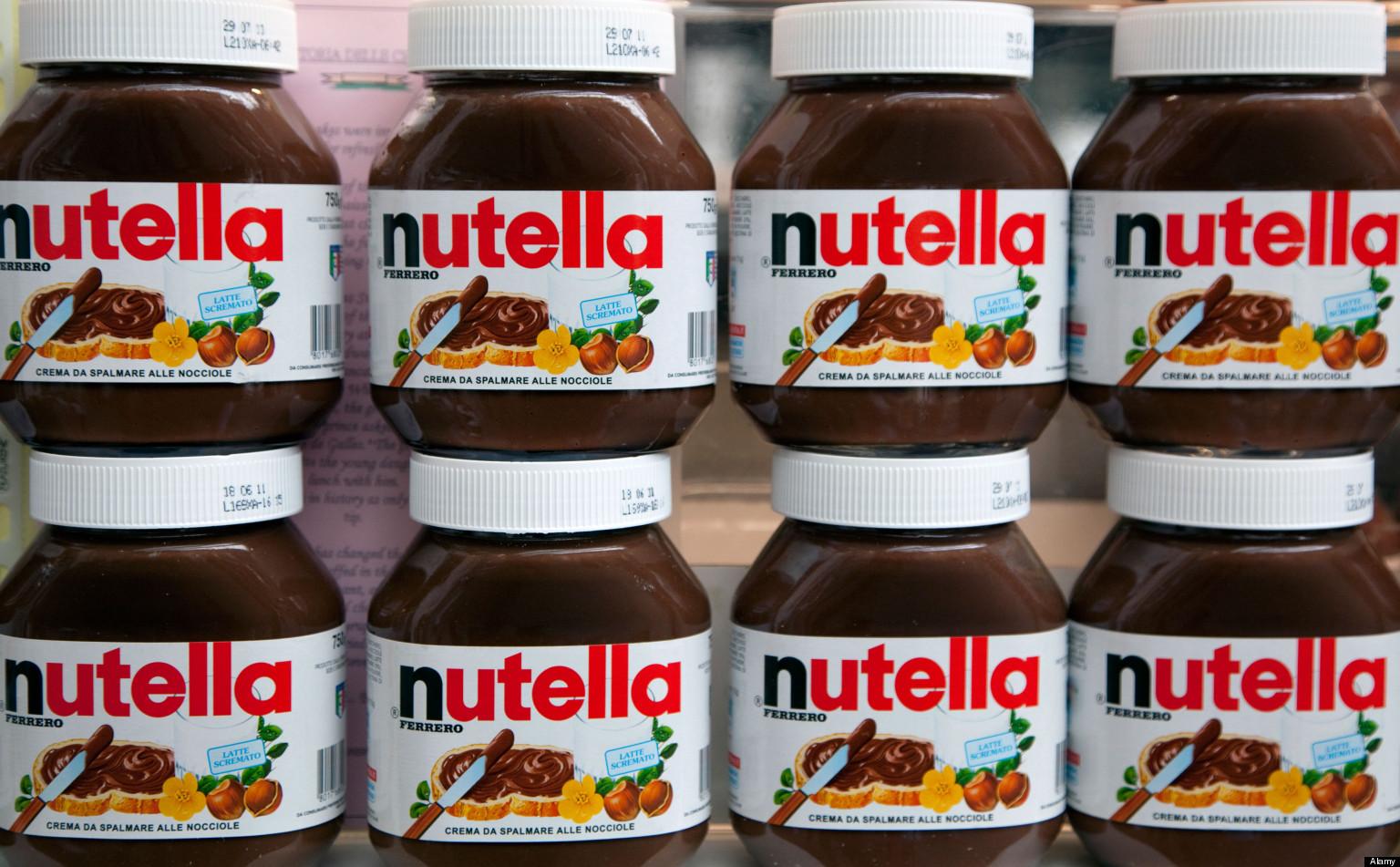 La Dolce Vita Italian food & drink show at Business Design Centre, London: Nutella chocolate spread