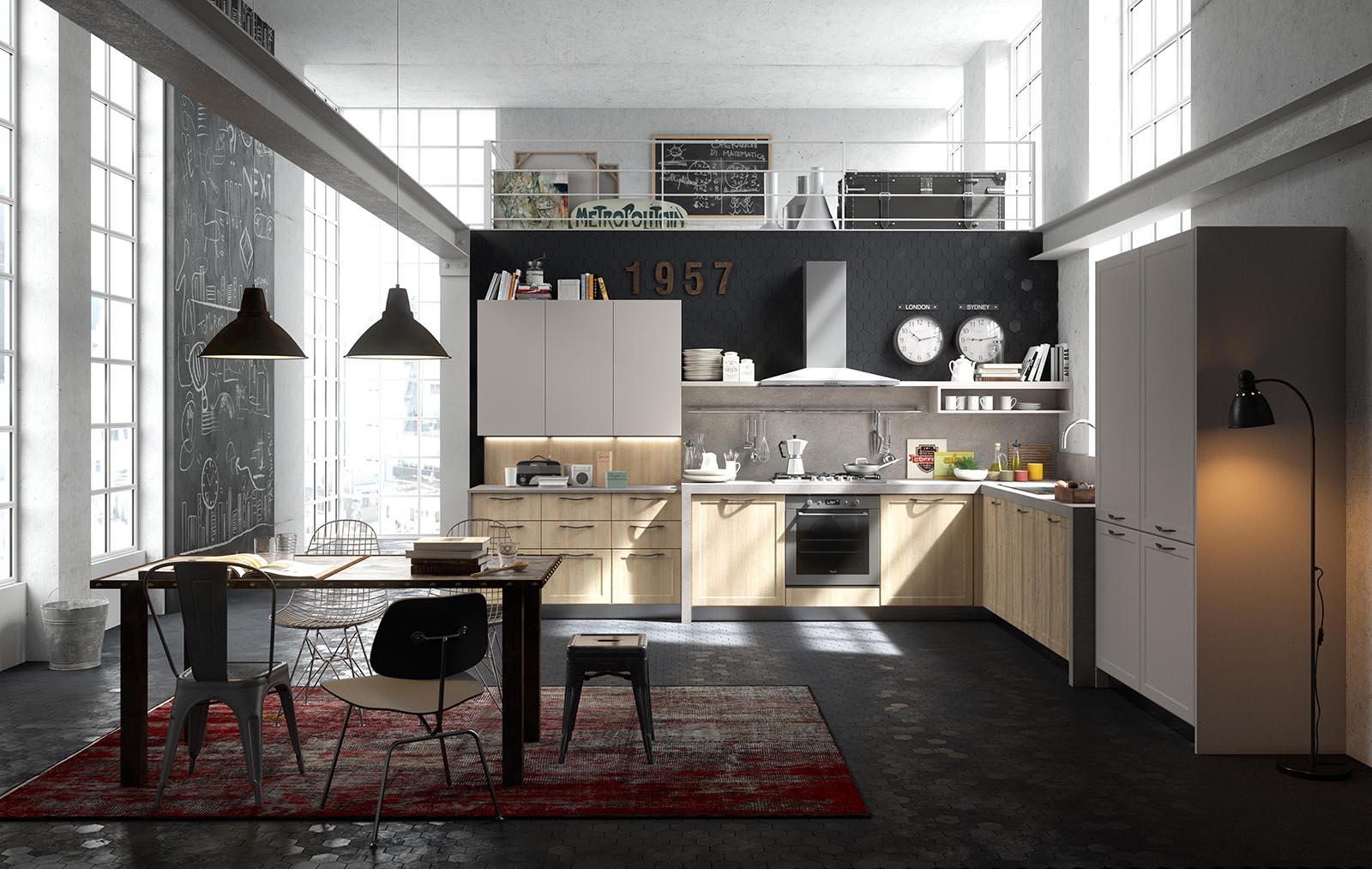 Emejing Cucine Industriali Per Casa Images - Home Design Ideas ...