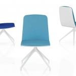 Ivrea di MaMà Design Italia è una sedia girevole funzionale e pratica, dotata di un design fresco e accattivante, ideale in casa o in ufficio. La seduta è imbottita in poliuretano schiumato a freddo che garantisce comfort e resistenza, è rivestita in tessuto ignifugo bicolore