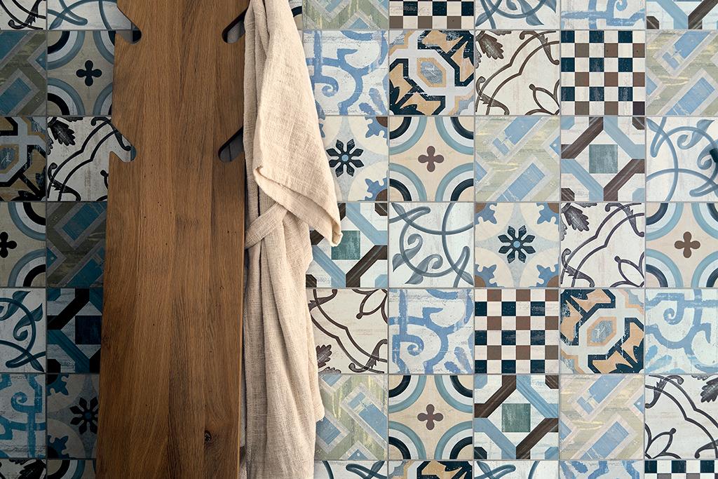 Ceramica maioliche e cementine:piastrelle di tendenza