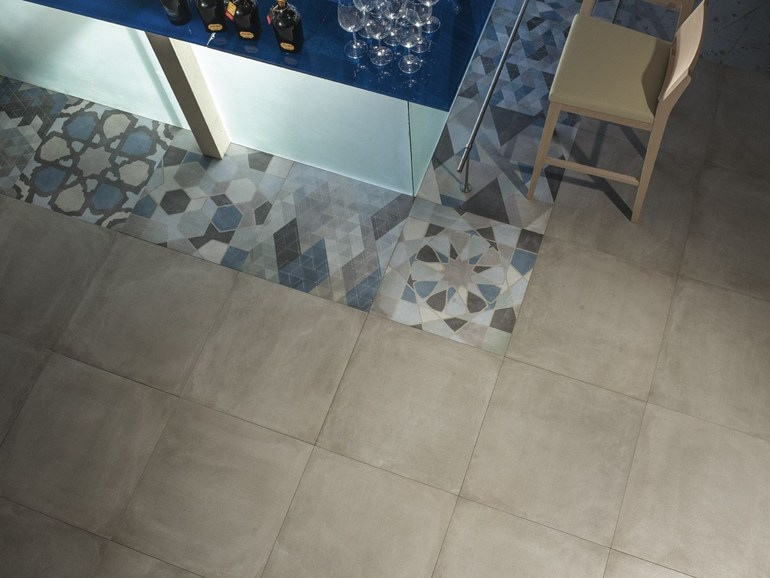Piastrelle gres porcellanato keope in pavimenti interni