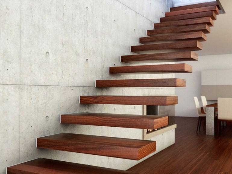 Le 20 scale per interni pi belle - Scale in legno moderne ...