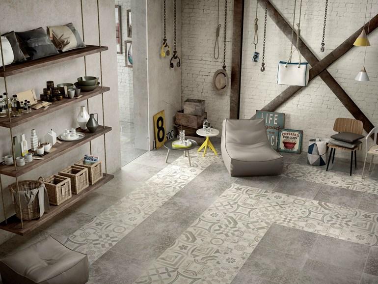 Ceramica maioliche e cementine piastrelle di tendenza