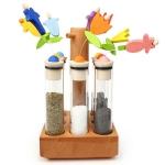 Contenitore per spezie in legno massello - Legnomagia € 105,00