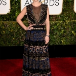 Claire Danes in Valentino   Golden Globe 2015