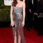 Dakota Johnson in Chanel Haute Couture   Golden Globe 2015