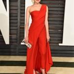 Diane Kruger in Donna Karan Atelier   Academy Awards after-party 2015