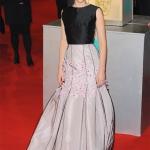Felicity Jones in vintage Dior   BATFAS 2015
