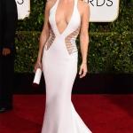 Kate Hudson in Atelier Versace   Golden Globe Awards 2015