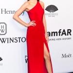 Kendall Jenner in Harry Winston   AmfAR New York Gala 2015