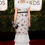 Kiera Knightey in Chanel   Golden Globe 2015