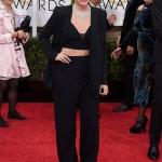 Lorde in Narciso Rodriguez   Golden Globe 2015