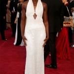 Lupita Nyong'o in Calvin Klein Collection   Oscar 2015