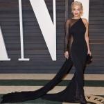 Rita Ora in Donna Karan Atelier   Academy Awards after-party 2015