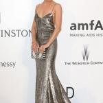 Sienna Miller in Ralph Lauren   Cannes AmfAr Gala 2015