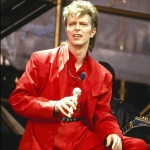 1987_ Durante il tour di Glass Spider