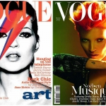 Kate Moss interpreta Bowie sulla copertina di Vogue UK