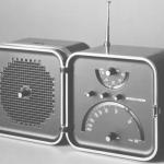 Radio TS 502 prodotta da Brionvega nel 1963, realizzata da Sapper insieme a Marco Zanuso