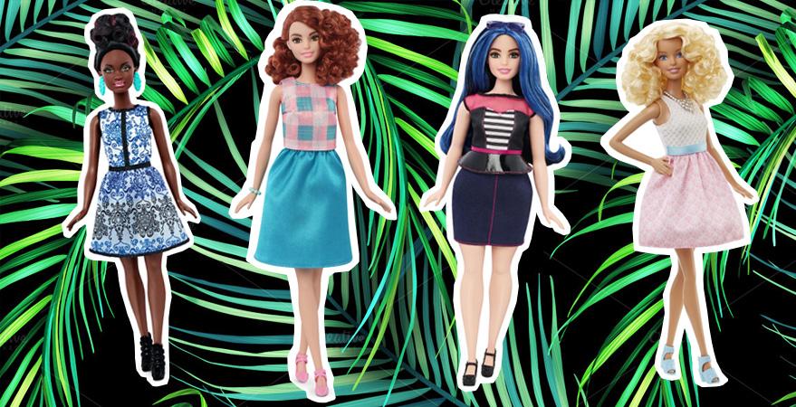 Barbie curvy tall e petite