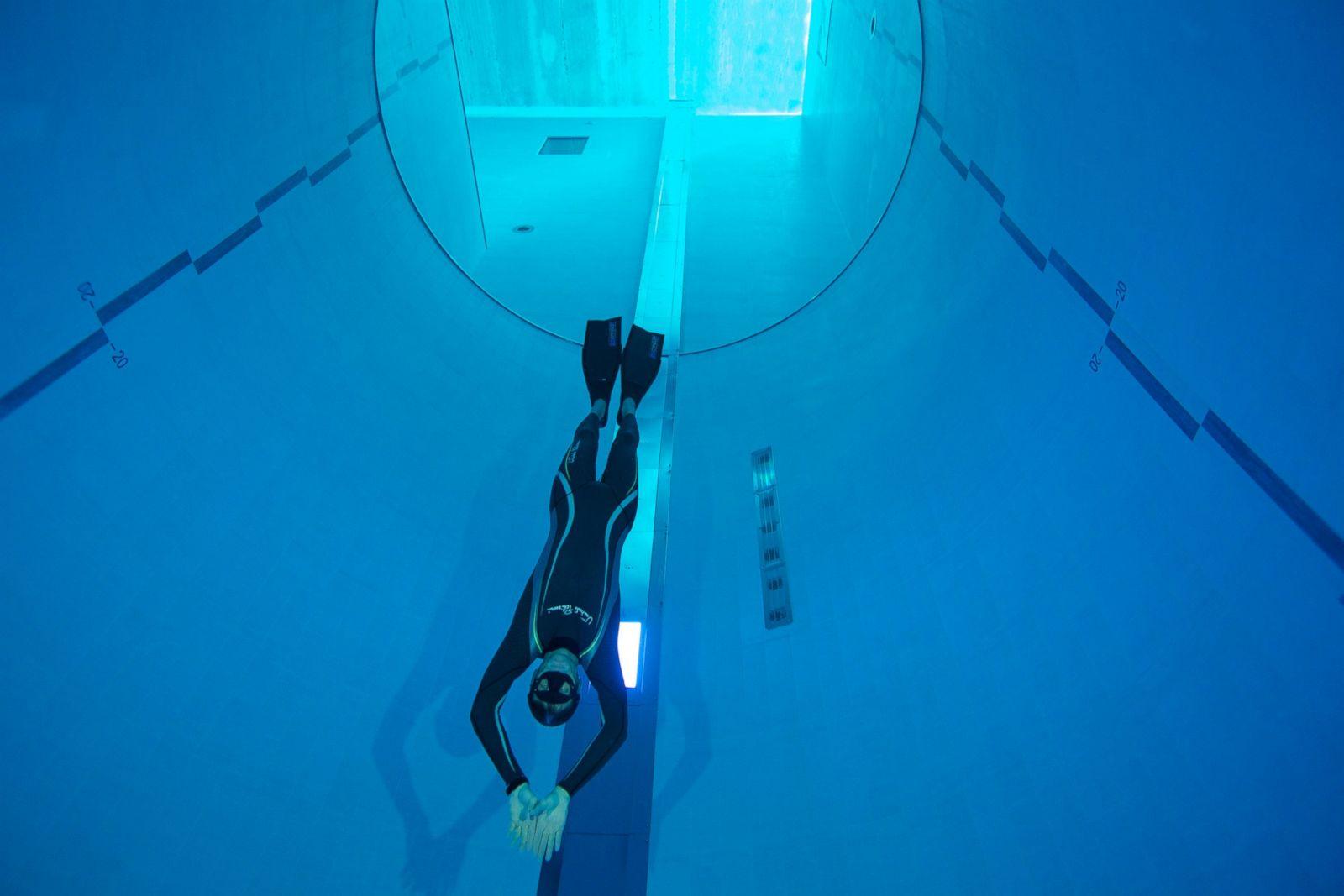 Y 40 la piscina pi profonda del mondo si trova in for Piscina y 40 padova