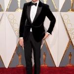 Eddie Redmayne in Alexander McQueen