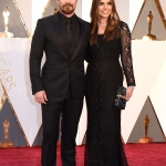 Christian Bale e la moglie