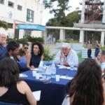 Un momento del Workshop sulla scena teatrale siciliana
