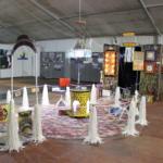 L'installazione dell'artista Stello Quartarone