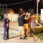 La giornalista Gisella Cicciò ha introdotto il corto a cura del laboratorio Cinema del Liceo Seguenza