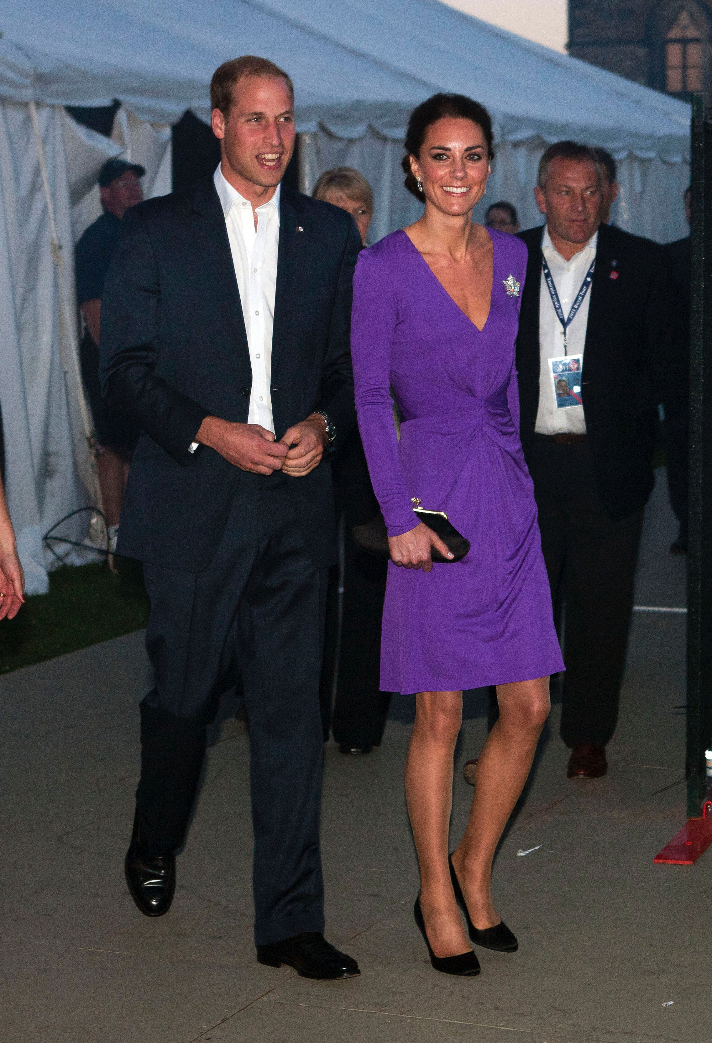 Kate Middleton in Ultra Violet